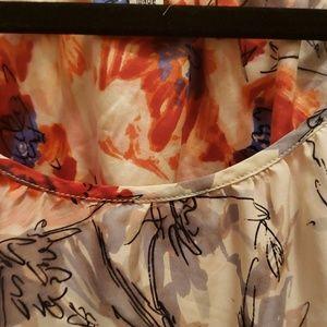 CAbi Tops - Cabi oversize silk top